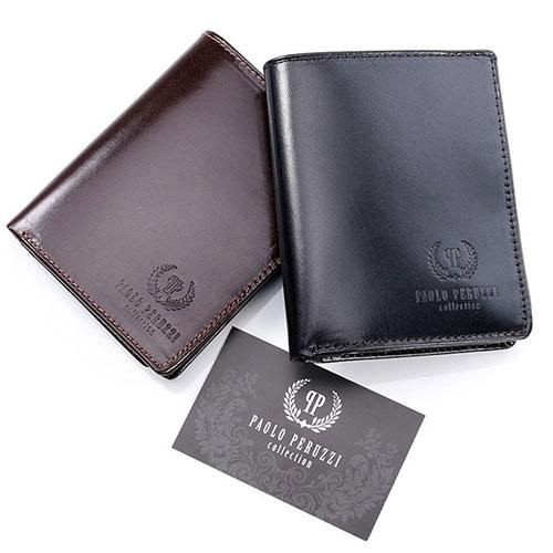 skórzane portfele męskie